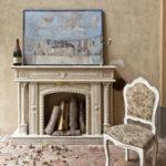 Caminetto esterno - Casa privata Castello di Rivalta - Piacenza