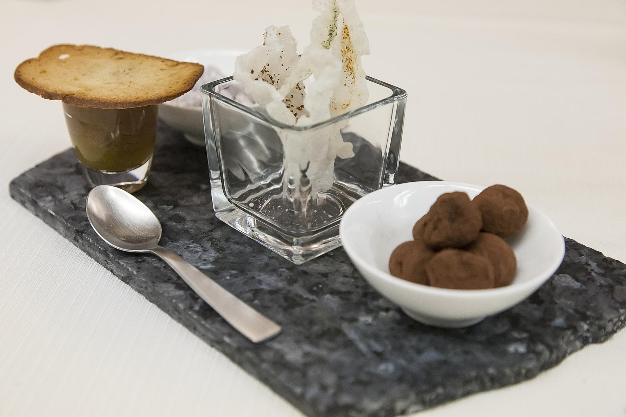 Delicatezze al cioccolato. food photography