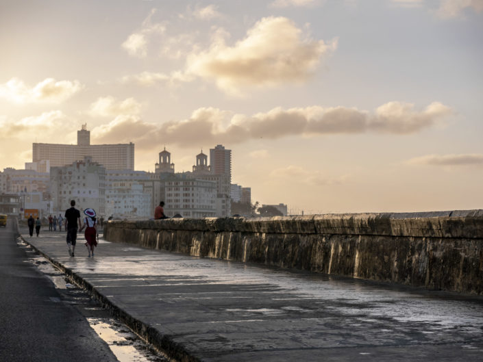 Il Malecon all'Havana, foto di viaggi