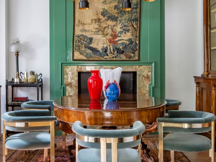 Casa Ugolino Sala da Pranzo- Architetto Luigi Fragola - Foto Francesca Anichini