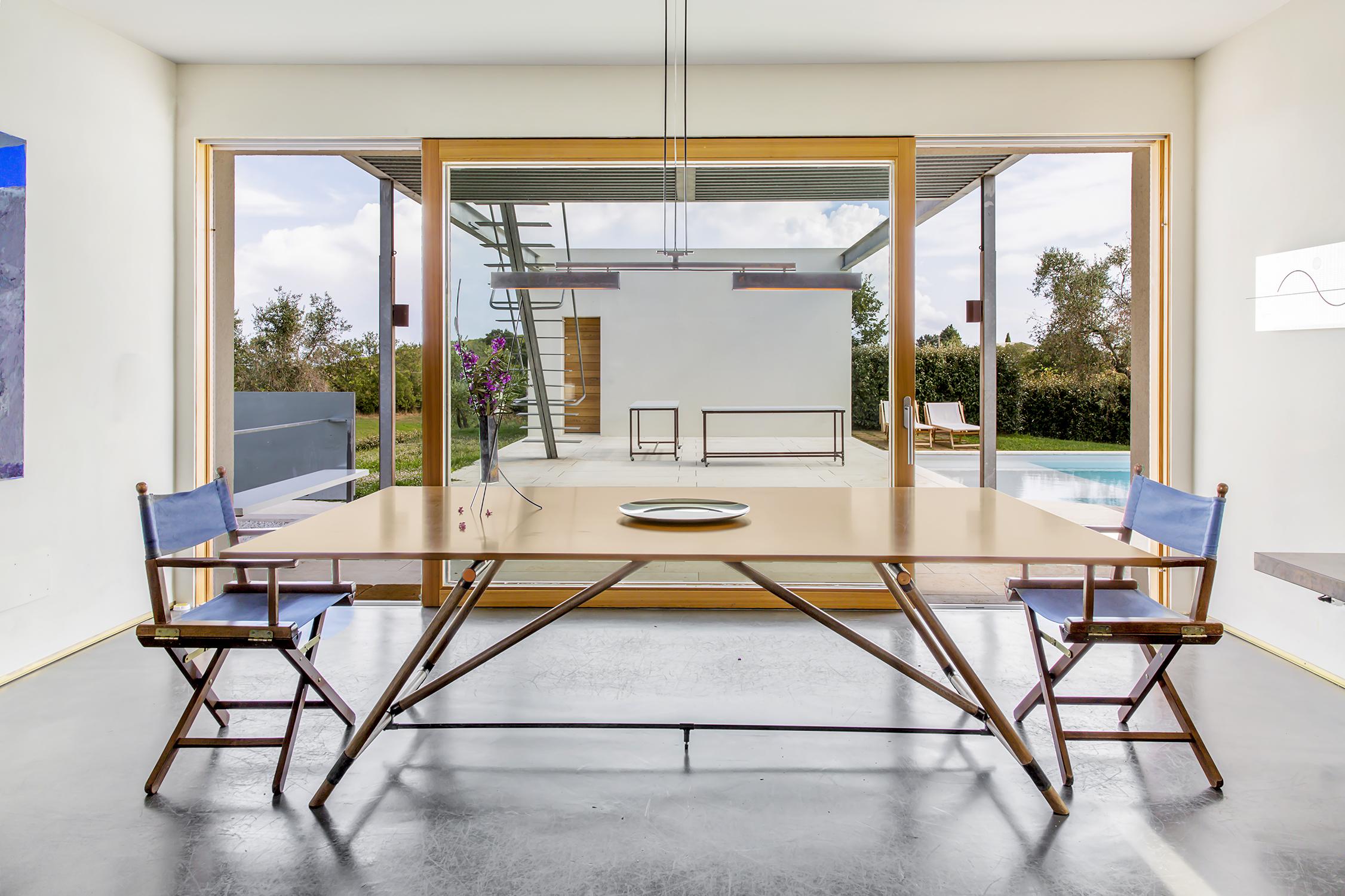 Living room in Maremma