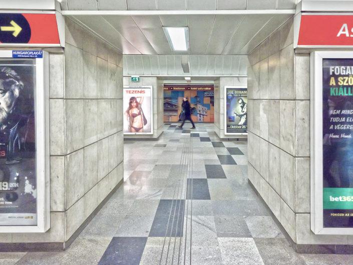 Budapest una corsa nella metropolitana