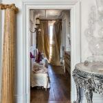 Ingresso della casa studio dell'interior designer Olimpia Orsini