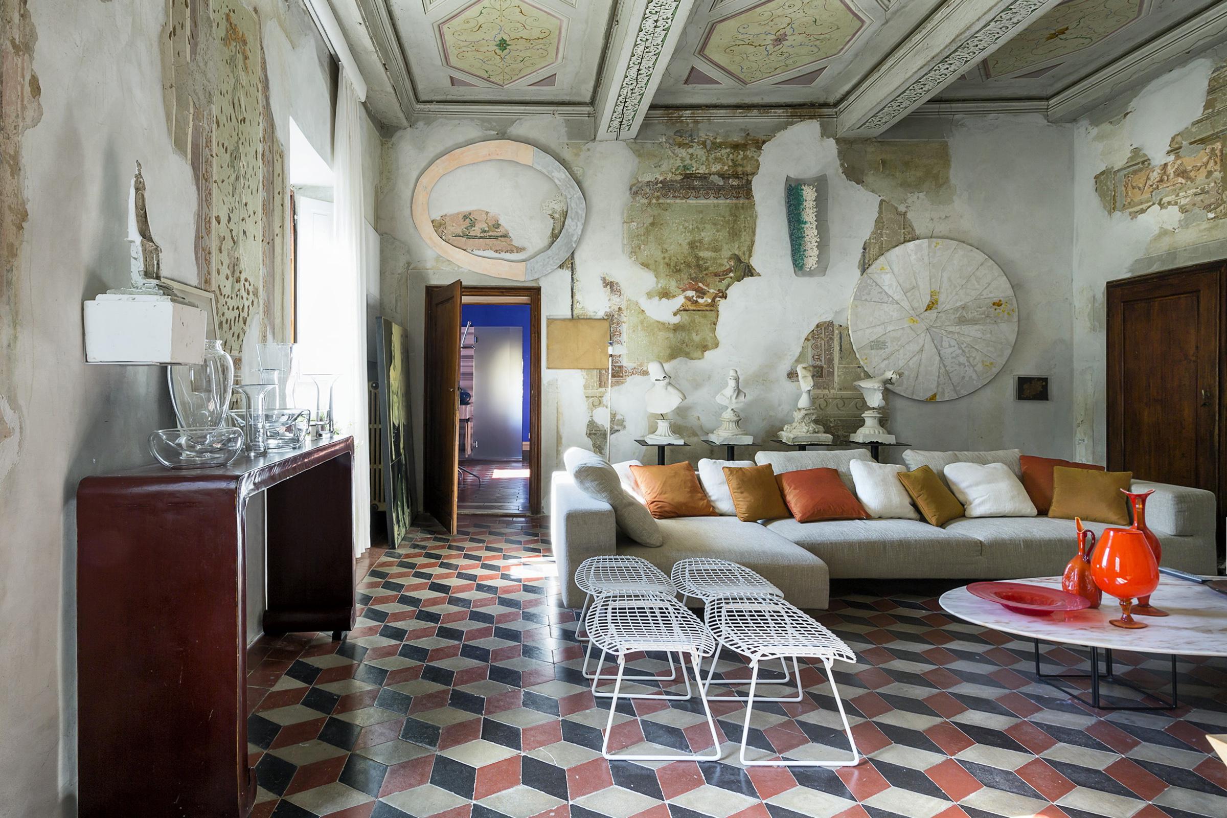 Soggiorno di Villa Gaeta Montevarchi