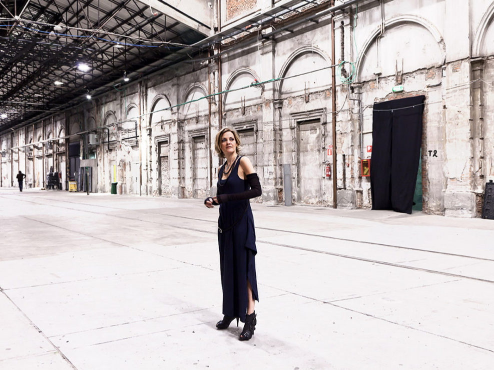 Irene Grandi alla Stazione Leopolda . Photo Francesca Anichini