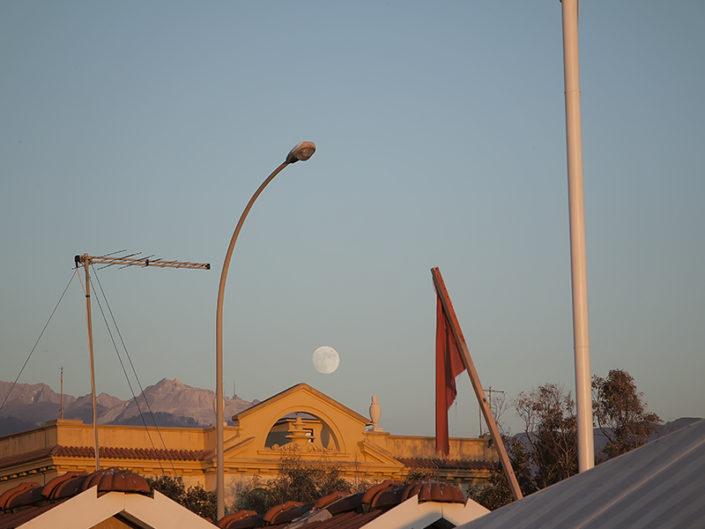 Rette diagonali e la luna