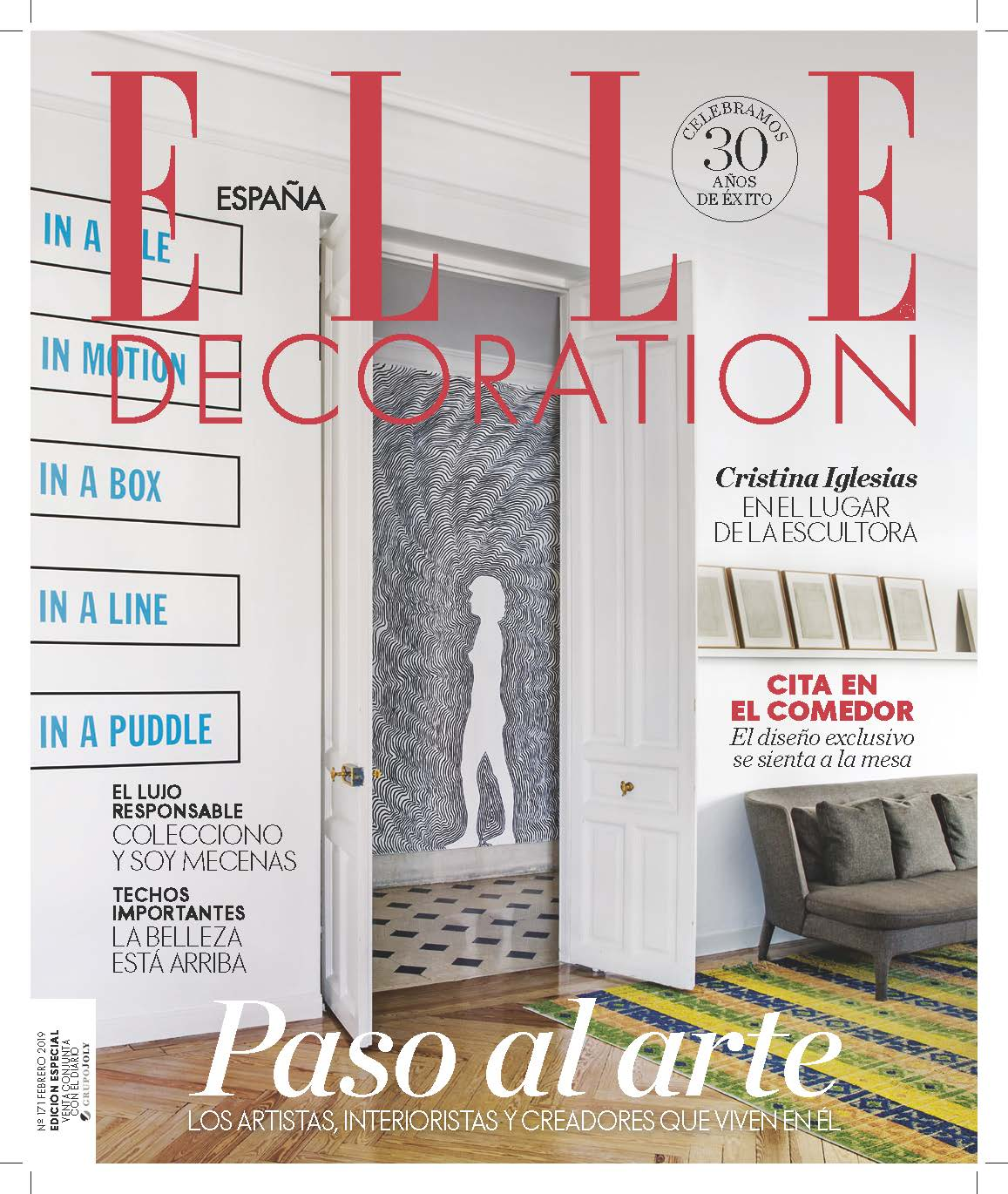 ELLE DECORATION ESPANA - ED171 - FRANCESCA ANCIHINI