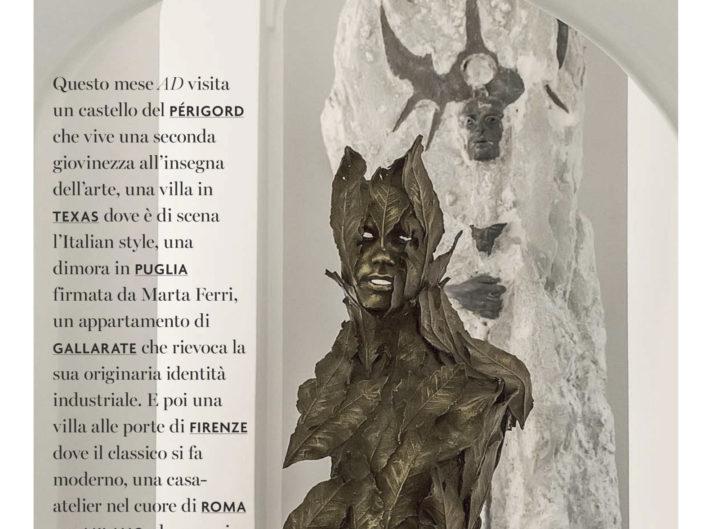 AD Italia - Maggio 2019 - casa Crema Fallani