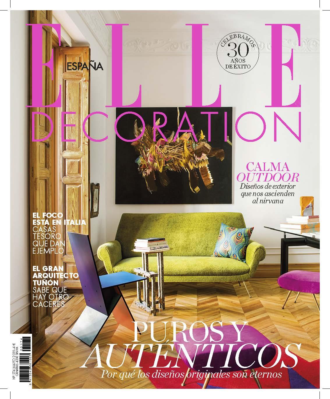 Elle Decoration Espana- Maggio 2019-