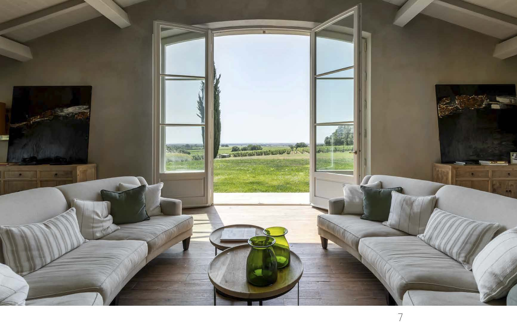 Casa di Bolgheri finestra sui campi foto Francesca Anichini