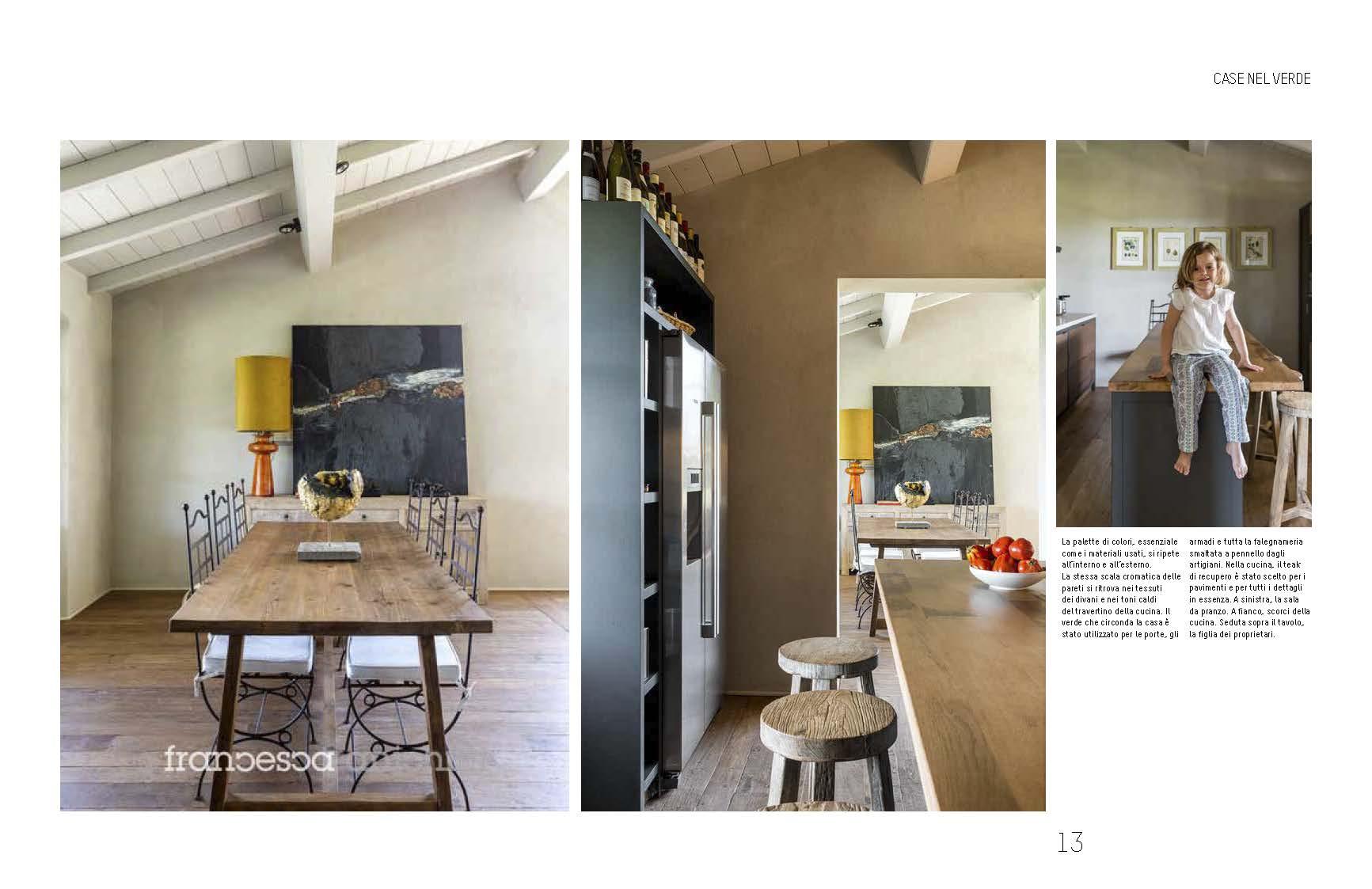 Casa di Bolgheri cucina foto Francesca Anichini